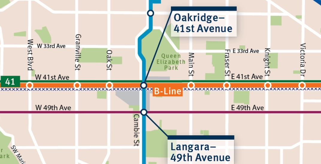 41st Avenue B-Line will run from UBC to Joyce-Collingwood Station (MAP)