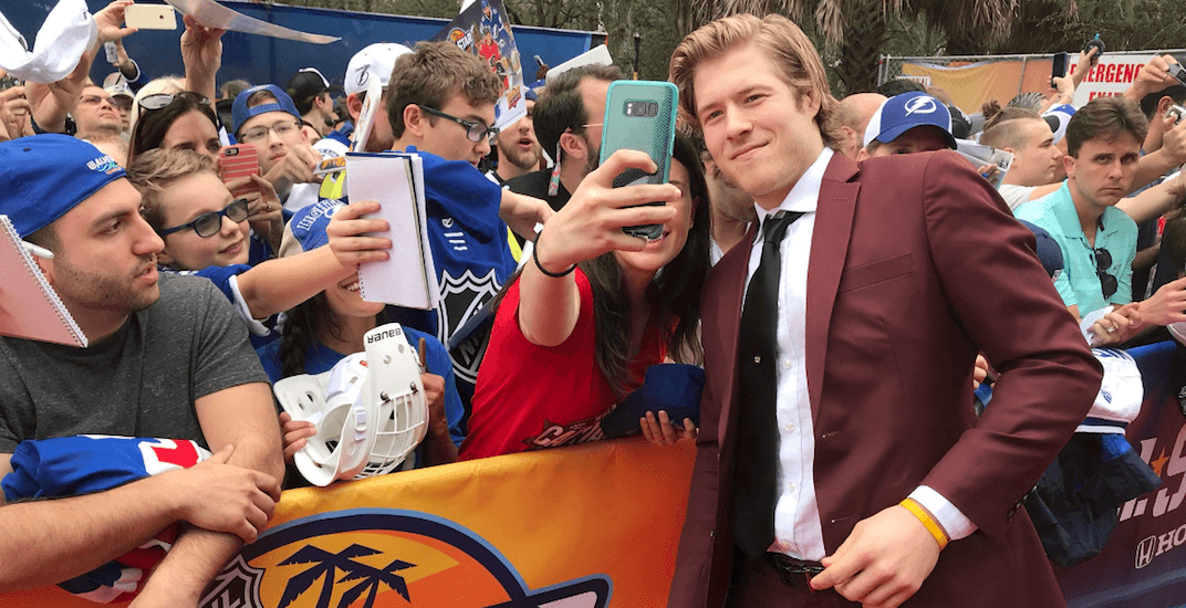 You can get a selfie with Brock Boeser before the Sedins' last game in Vancouver