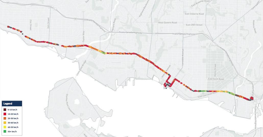 North Shore road speeds