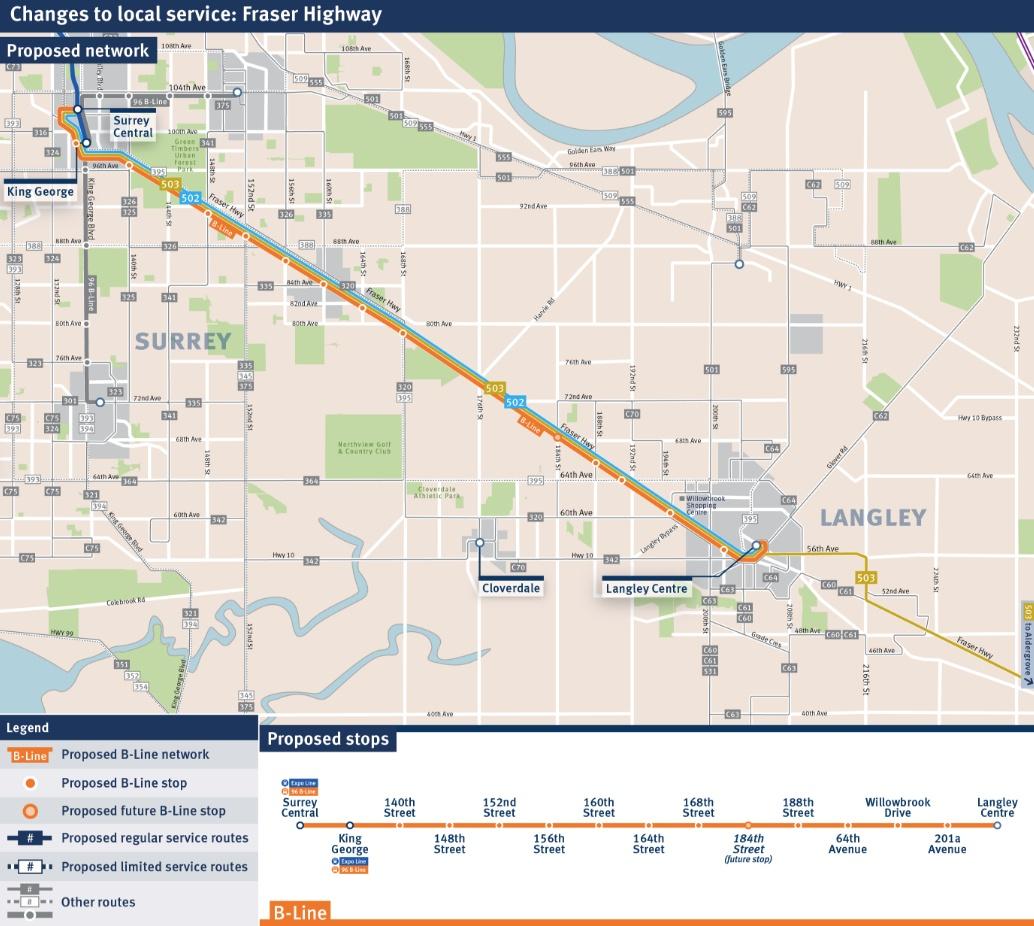 Fraser Highway B-Line
