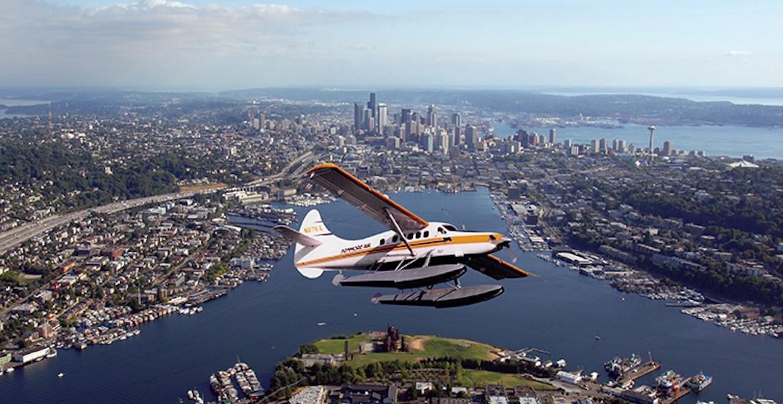 Seattle scenic seaplane tour lake union departure