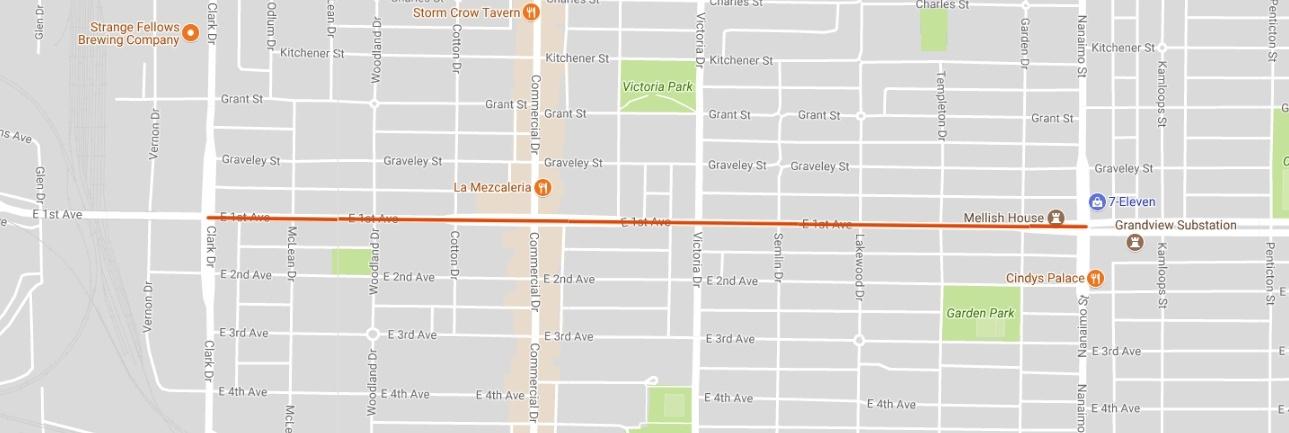 East 1st Avenue Closure 2018