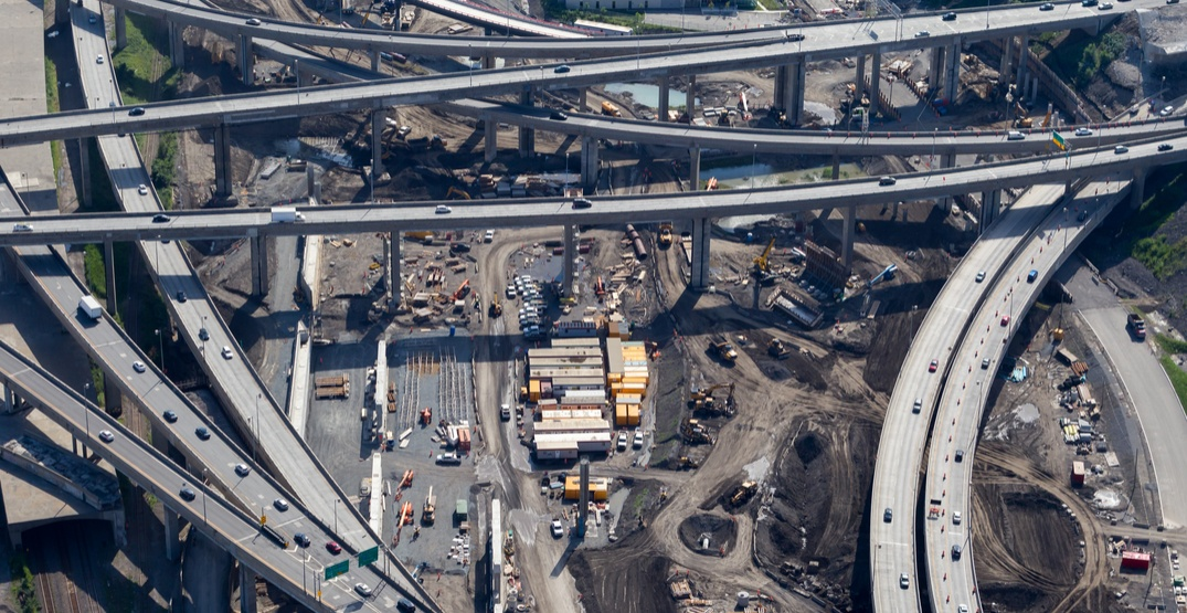 Montreal announces major closures in the Turcot Interchange this weekend