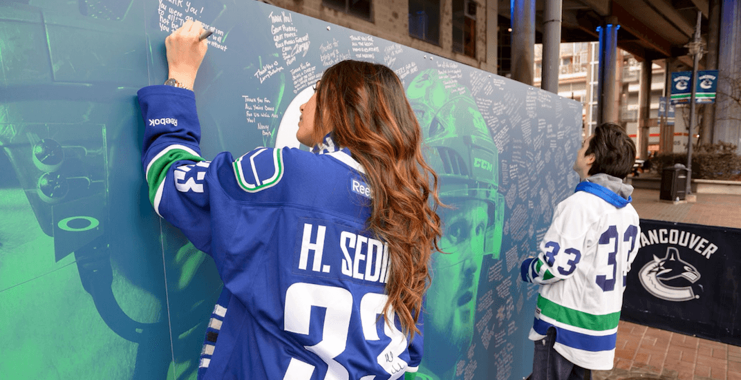 Sedin mural feature