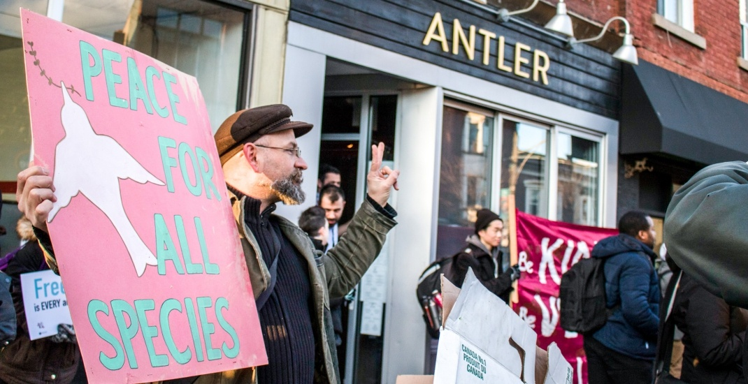 Antler restaurant labels ultimatum from animal rights activists as eco-extortion