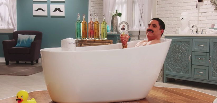 You have to see this SodaStream video featuring Game of Thrones and Shahs of Sunset actors taking baths