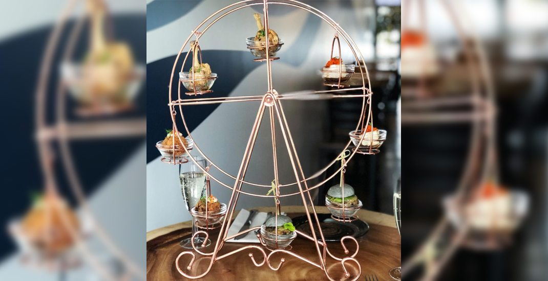 This Vancouver eatery serves Ferris wheels of hors d'oeuvres (PHOTOS)