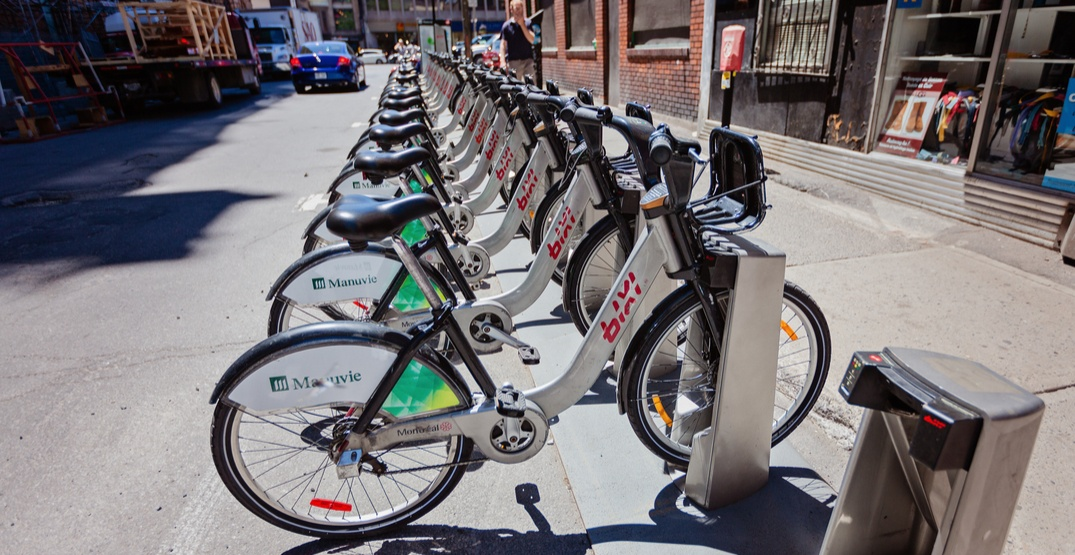 Montreal's Bixi Bikes sharing program returns to the city this April