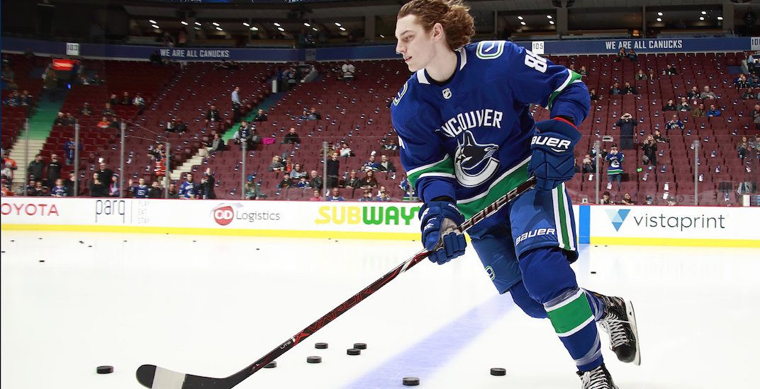 5 rookies that could play for the Canucks next season  2e28d1b63
