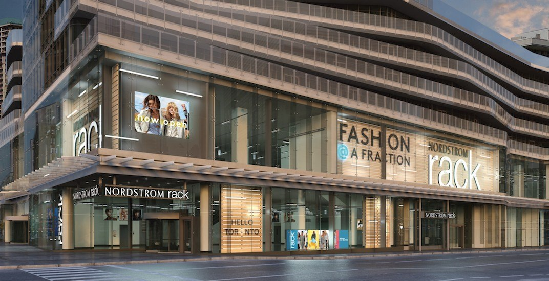 3138c2347 Nordstrom Rack opens first downtown Toronto location today | Daily ...
