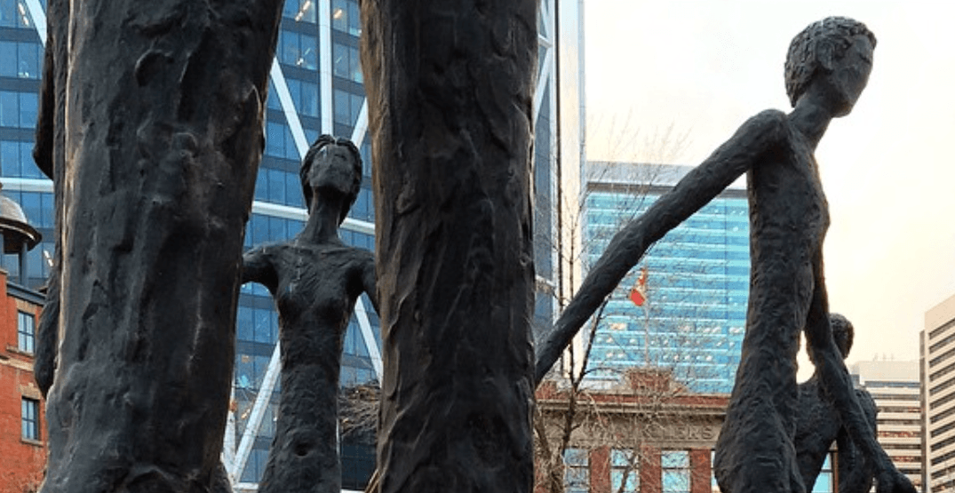 Calgary Public Art: The Brotherhood of Mankind (PHOTOS)