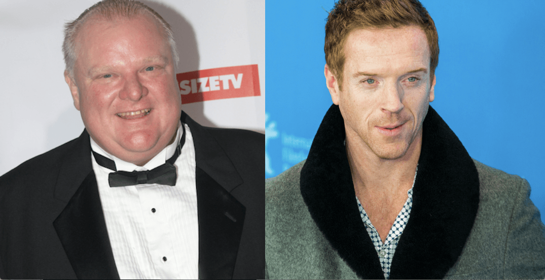 There's a new Rob Ford movie filming in Toronto right now
