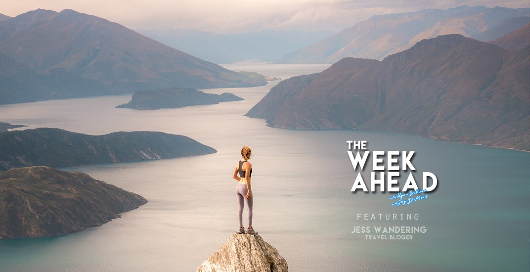 Week Ahead Podcast: How to be a successful travel blogger featuring Jess Wandering