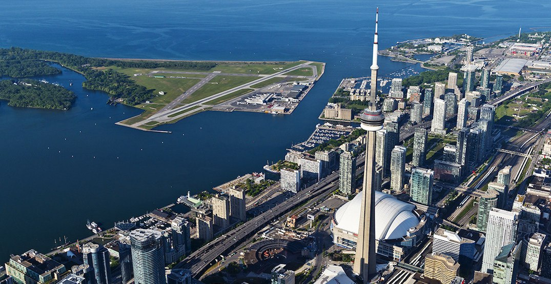 Portstoronto billy bishop airport voted among the most scenic ai