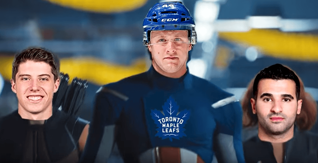 Somebody recreated the Avengers trailer featuring the Toronto Maple Leafs (VIDEO)