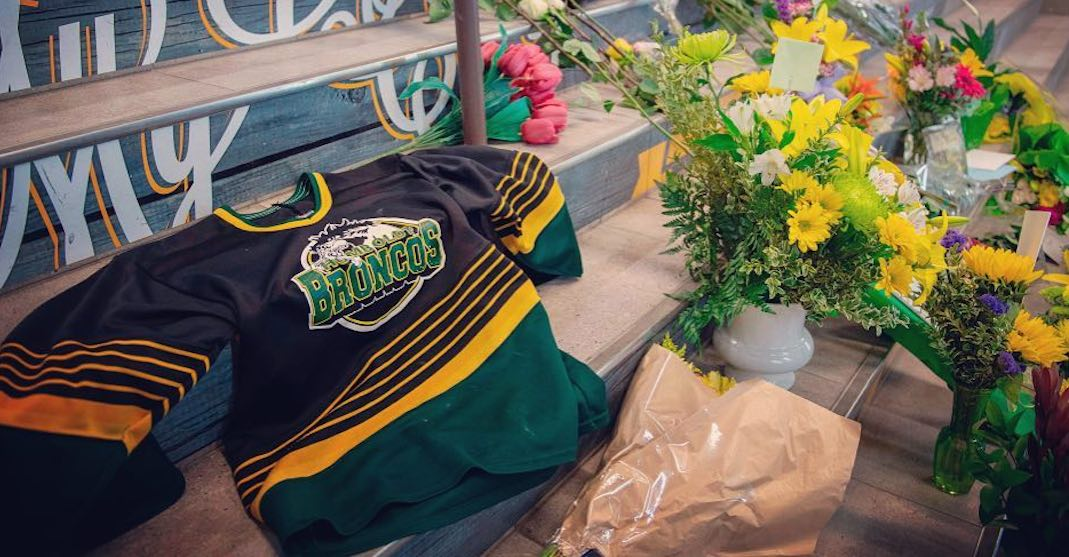 Canadians are wearing hockey jerseys this Thursday to honour Humboldt families