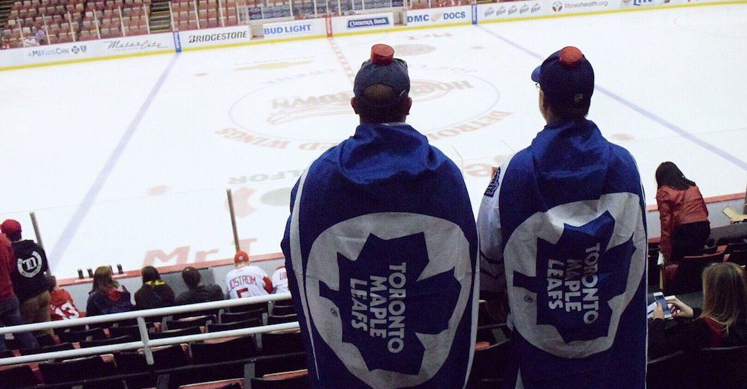It's cheaper to drive to Boston for a Leafs' playoff game than going in Toronto