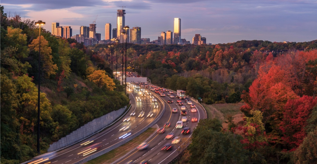 There's going to be a partial closure on the DVP this weekend