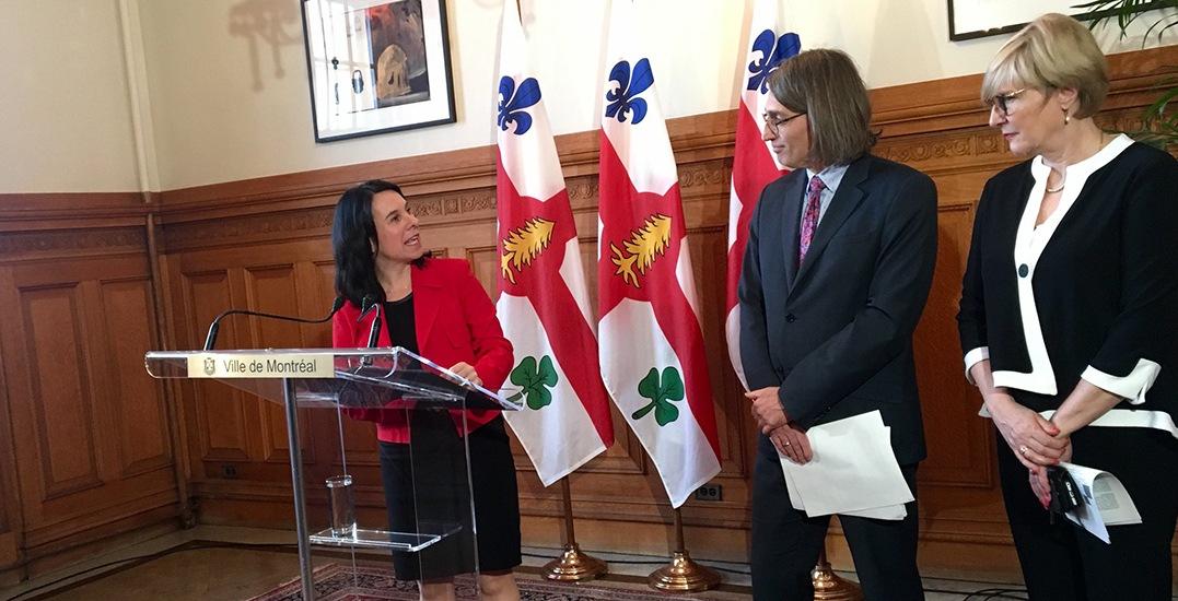 Mayor Valerie Plante announces program to help Montreal families buy homes