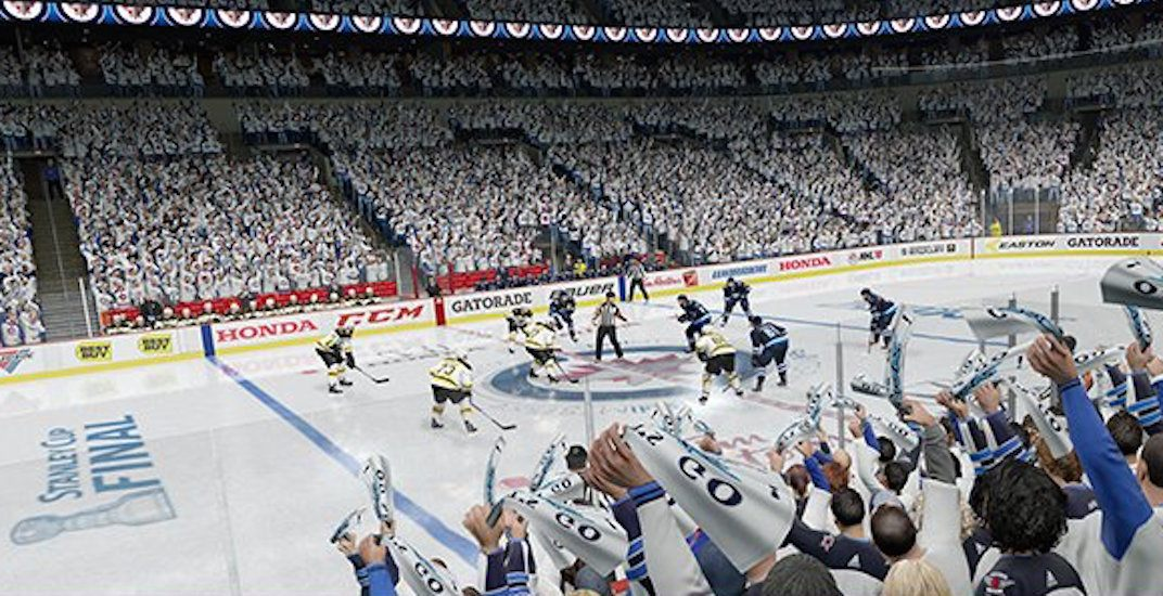 Ea sports simulator nhl
