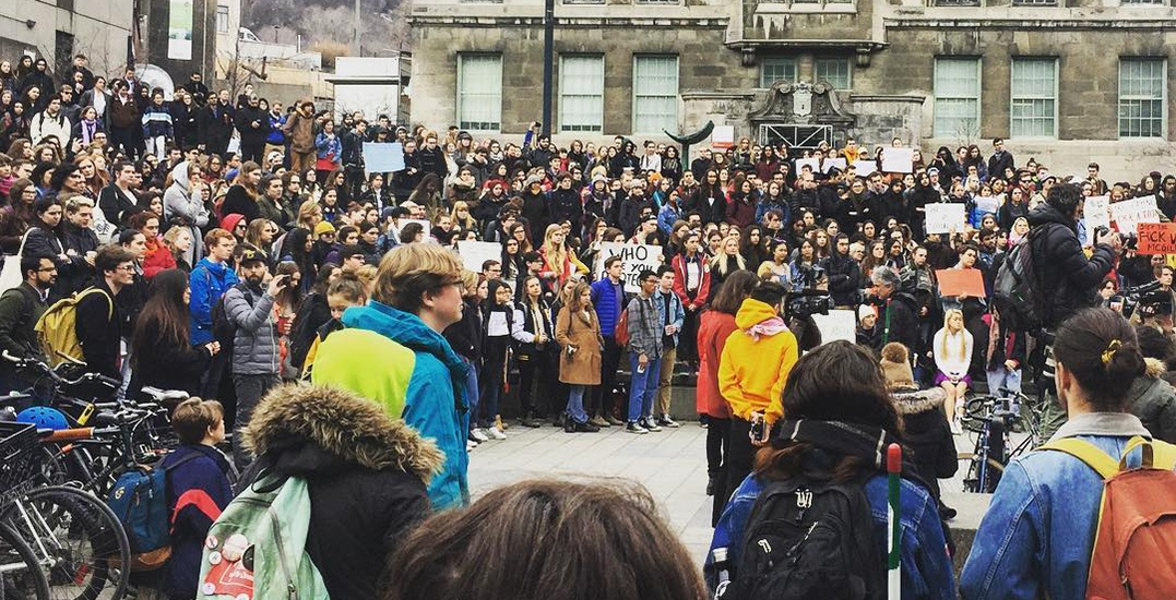 Hundreds of Montreal students protest against McGill and Concordia University (PHOTOS)