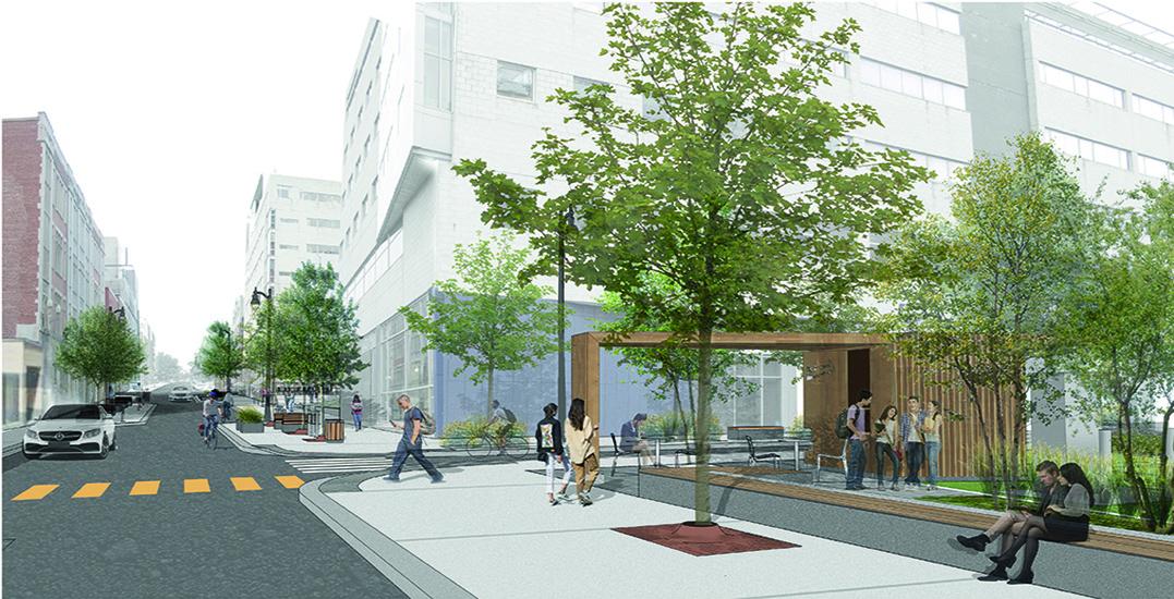 City of Montreal announces major urban renovation around UQAM area (PHOTOS)