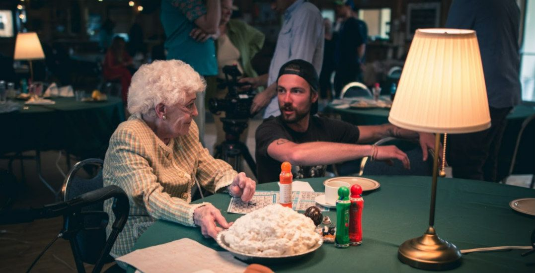 How to film a food fight in a retirement home (VIDEO)