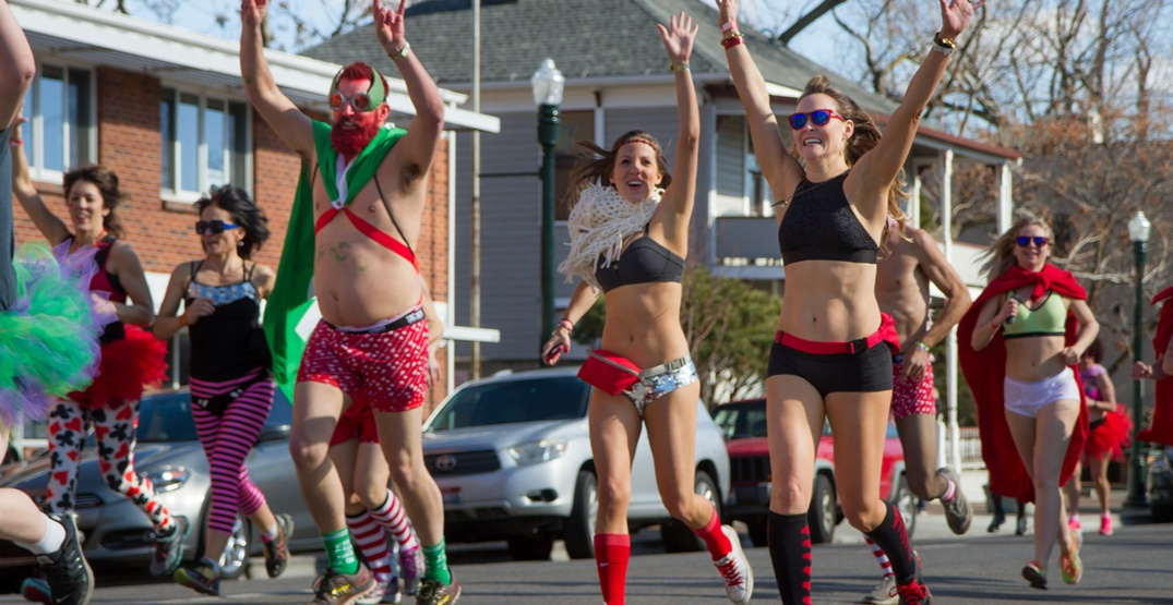 UBC is hosting an underwear run and dance party this weekend