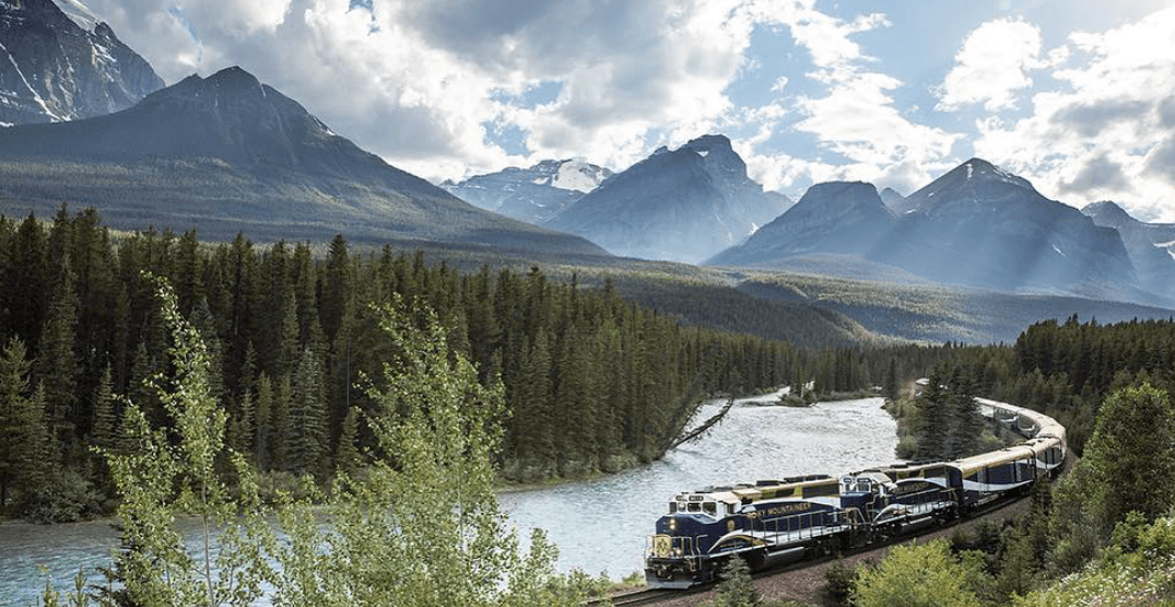 Experience the best of the Rocky Mountains with this incredible train vacation