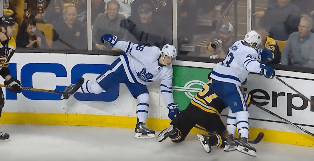 Leafs' Kadri could be suspended for dirty hit in Game 1 vs Bruins (VIDEO)