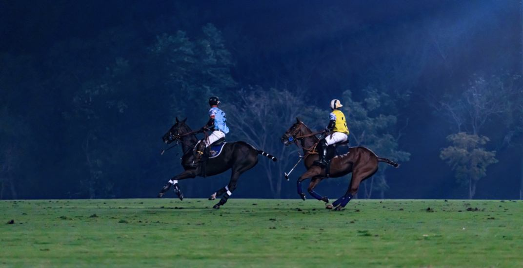 You can enjoy a polo match under the stars in Toronto this June