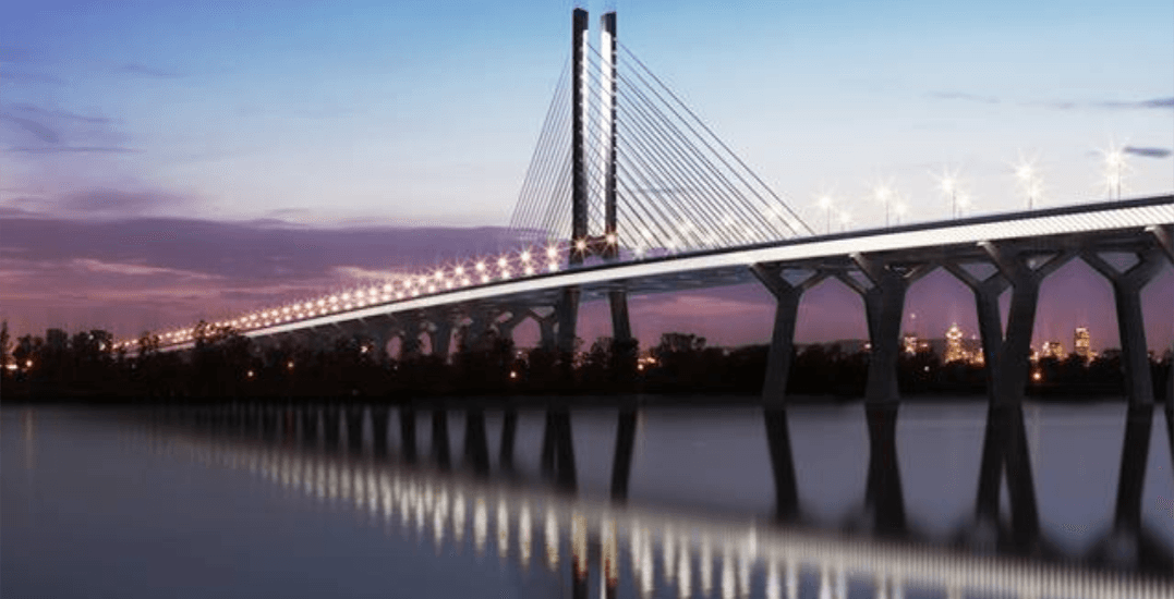 Montreal's new Champlain Bridge has announced its opening date