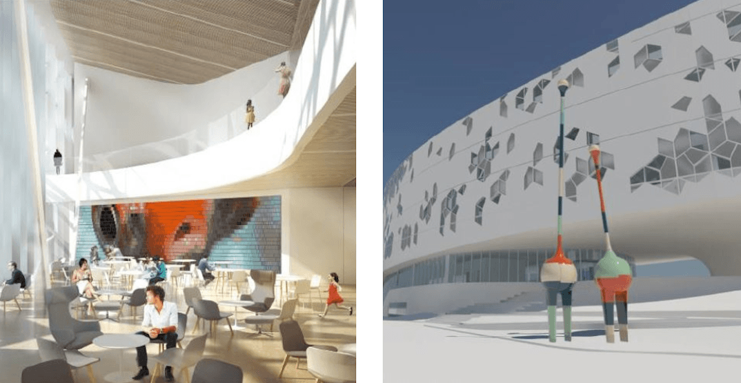 $2 million going towards public art at the New Central Library