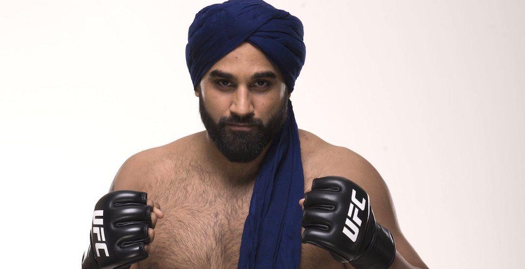 Canada's Arjan Bhullar to make history wearing turban to UFC fight