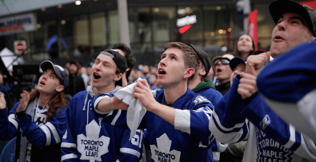 Leafs fans freak out after another playoff loss to the Bruins