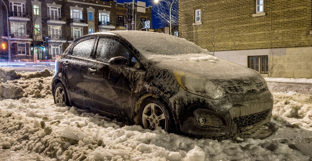 Environment Canada warns of freezing rain in Montreal for next 24 hours