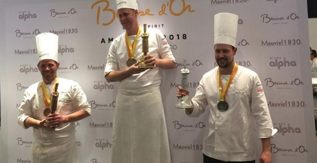 Canada wins second place at the world's toughest chef competition semi-finals