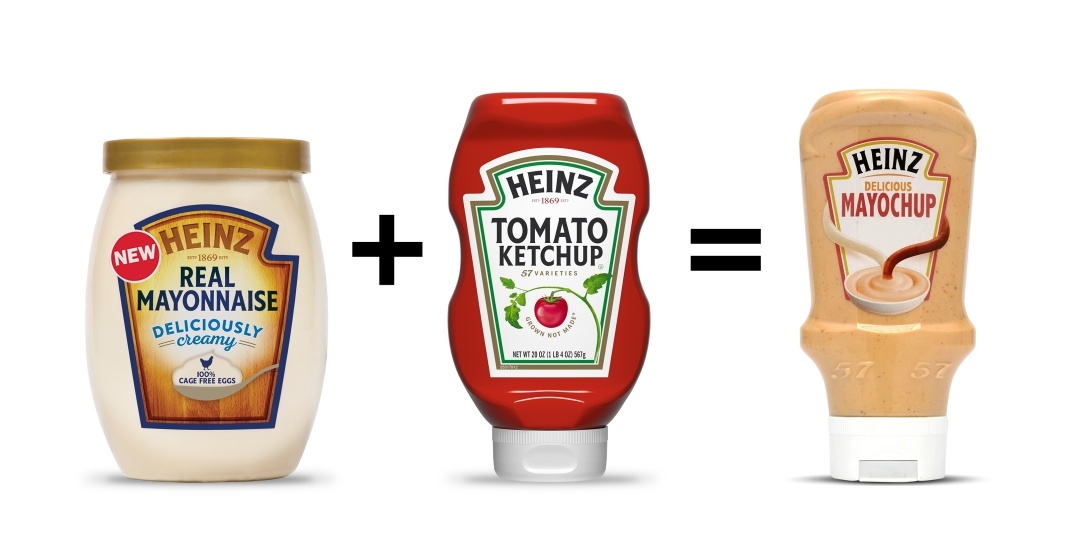 Heinz mayochup equation