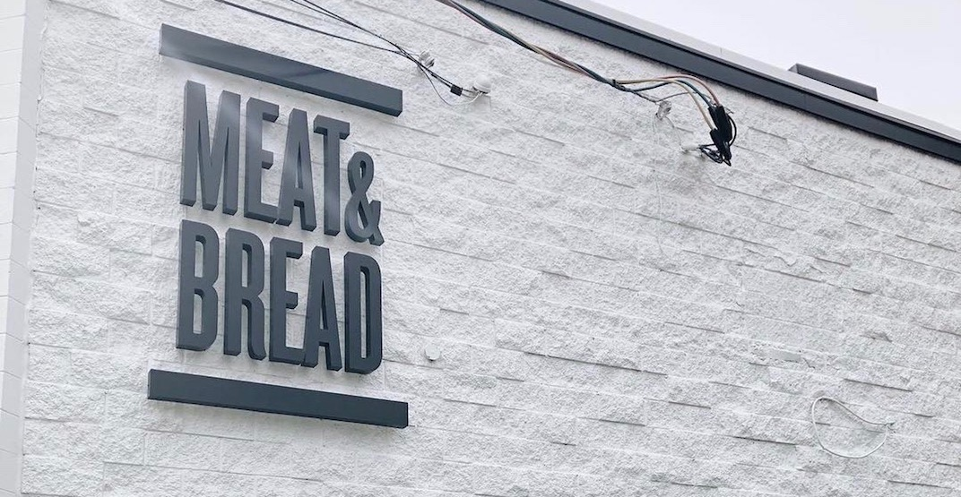 Meat & Bread Abbotsford opening