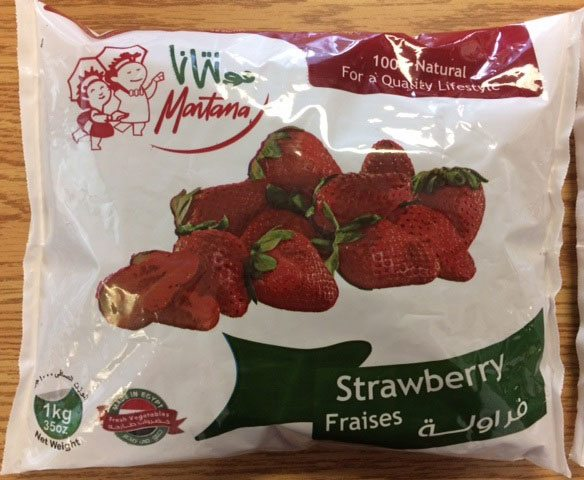 recalled strawberries