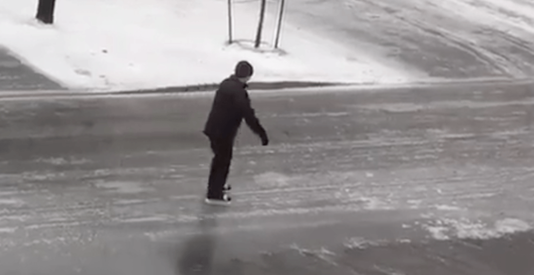People are skating down the street in our nation's capital (VIDEO)