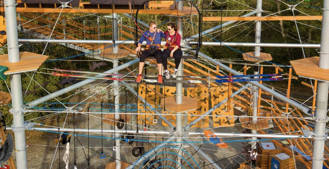 BC's massive rope running aerial park is the ultimate summer adventure (PHOTOS)