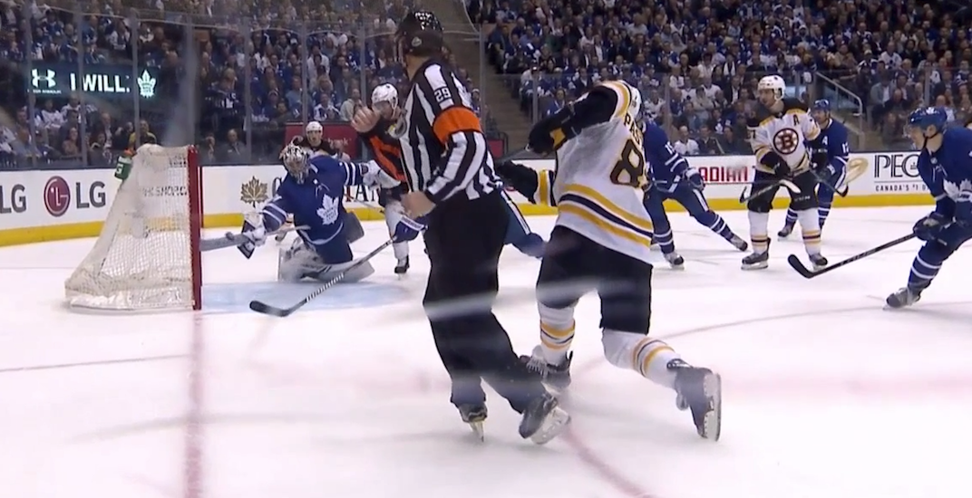 Frederik Andersen made the save of the season for the Leafs last night (VIDEO)