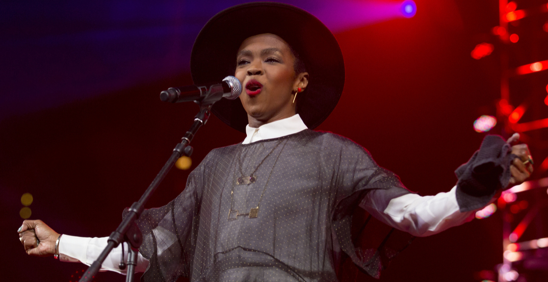 Ms. Lauryn Hill is playing a show in Burnaby this fall