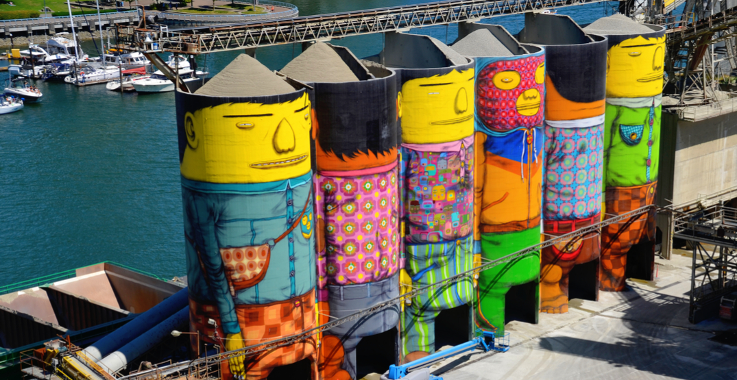 9 new murals to be unveiled during giant Granville Island street party