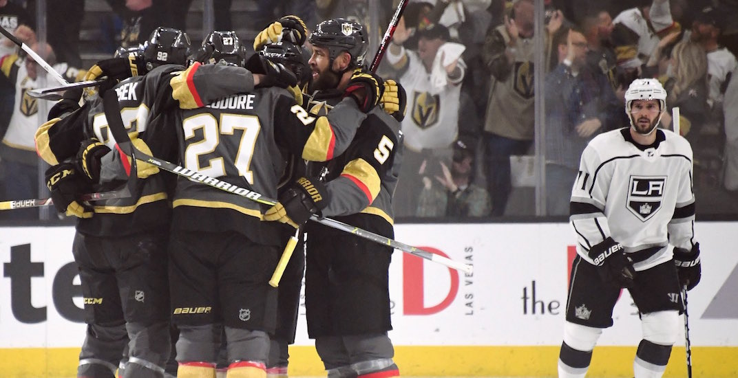 Vegas golden knights win