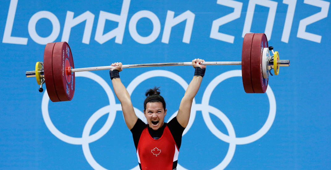 Christine girard weightlifting