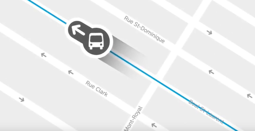 You can now see where your bus is in real-time on the STM's website