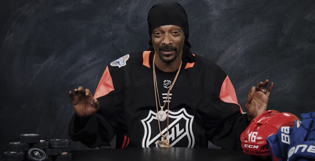 Snoop dogg nhl