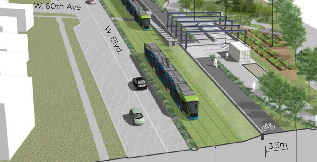 New streetcar and park space design on the Arbutus Greenway revealed (RENDERINGS)
